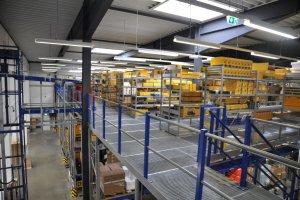 Bukh Bremen warehouse